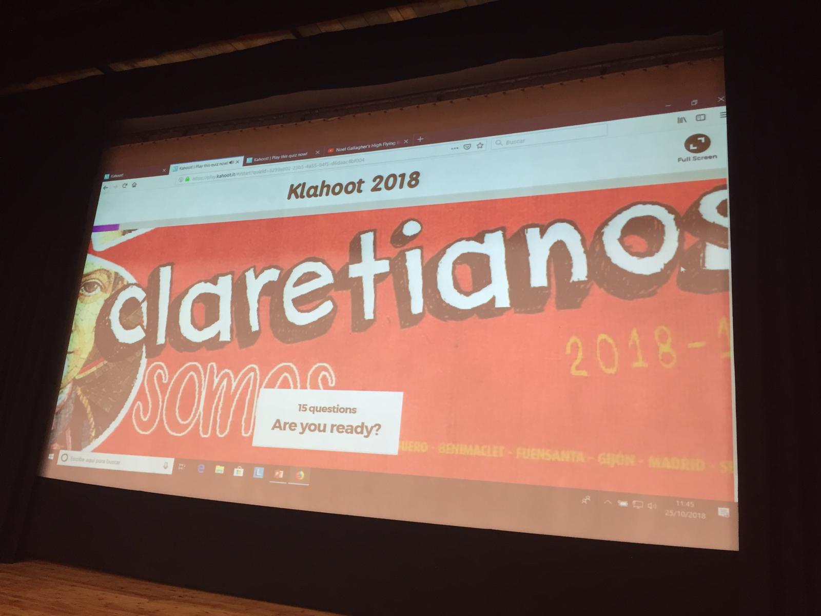 """""""Klahoot"""": Kahoot Claretiano"""