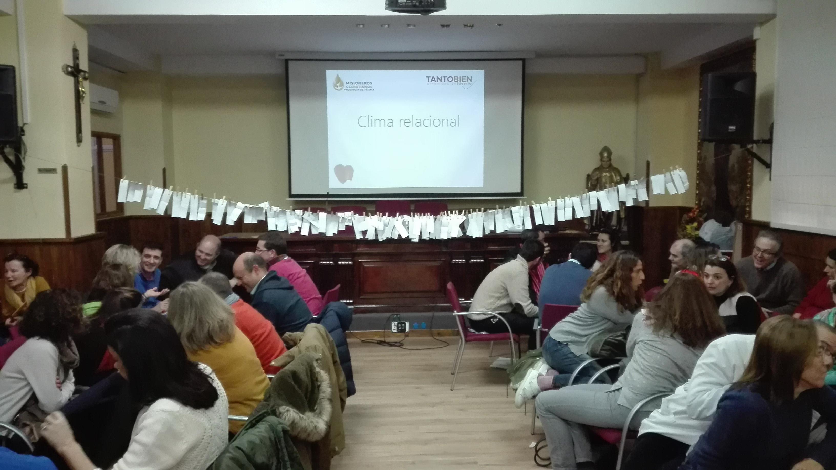Segunda sesión sobre el Ideario en Sevilla