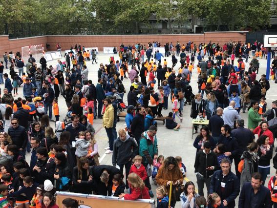 Éxito en la celebración de la V Carrera solidaria Colegio Claret Madrid – Fundación Proclade