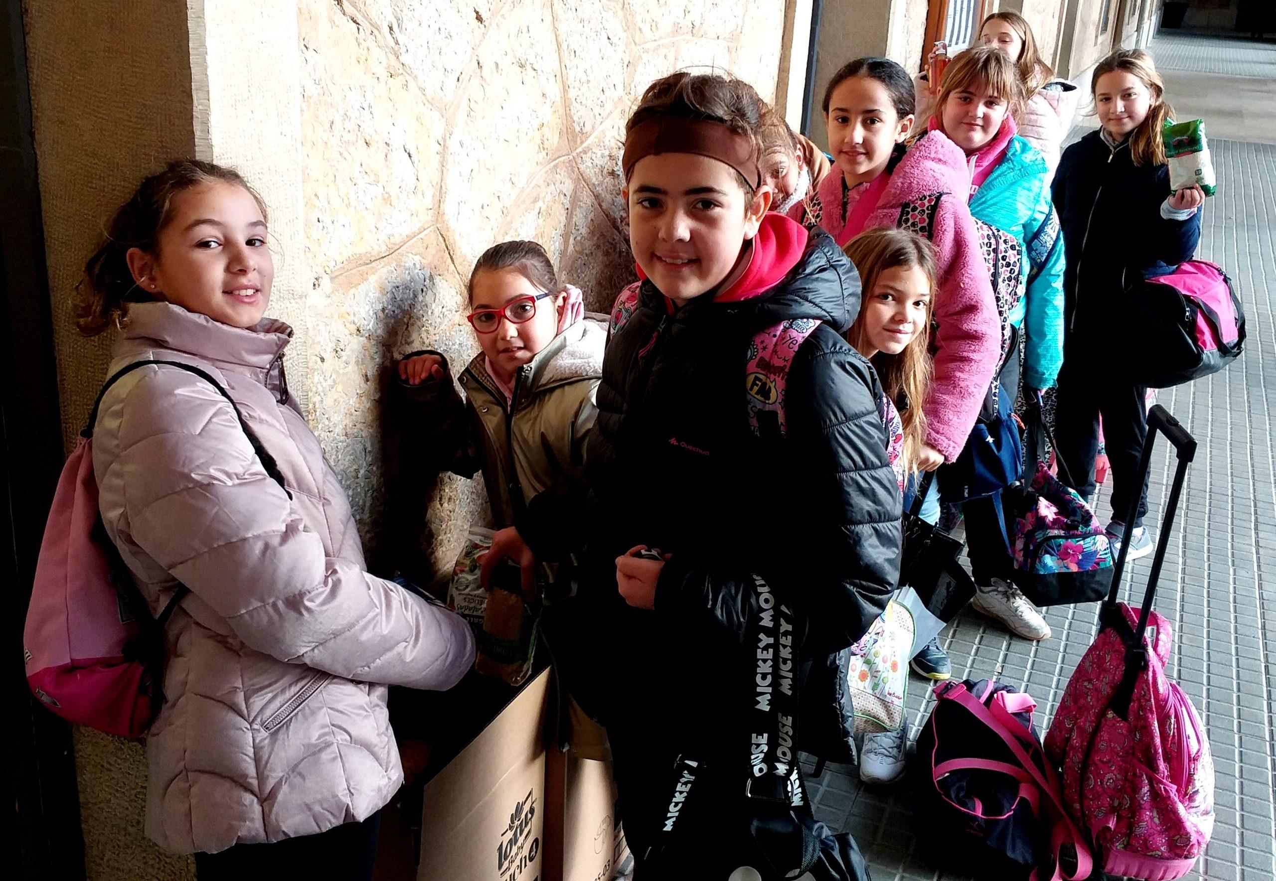 Días de solidaridad en el col·legi Claret de Valls.