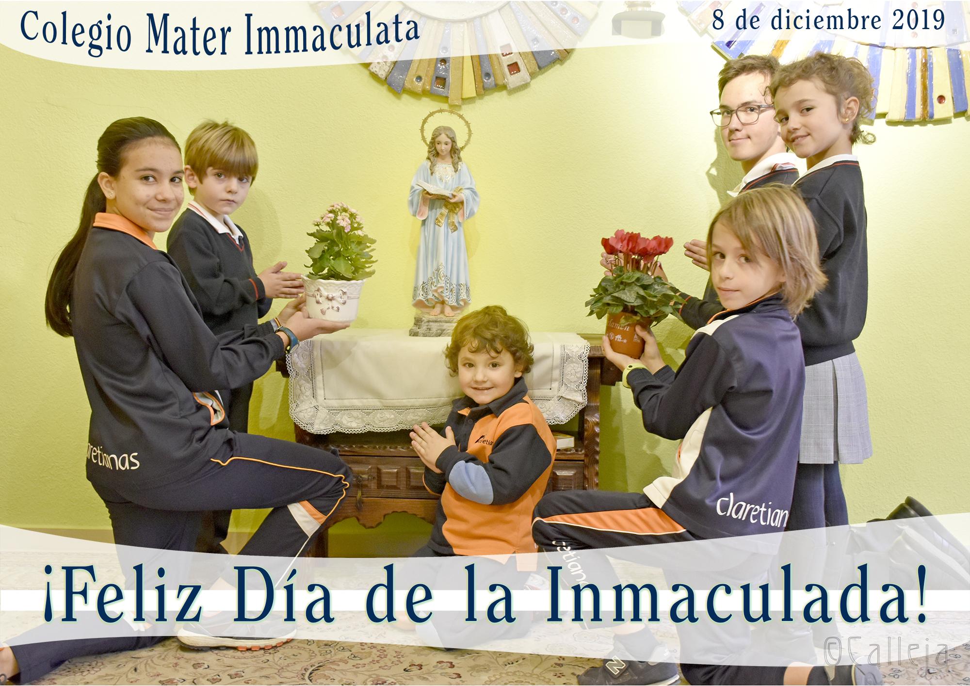 De fiesta en nuestro Colegio Mater Immaculata de Madrid