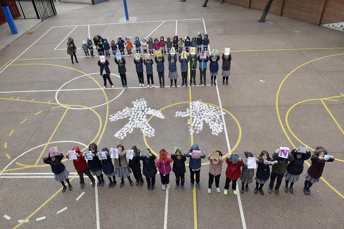 Así se celebró el Día internacional del niño en el Colegio Mater de Madrid