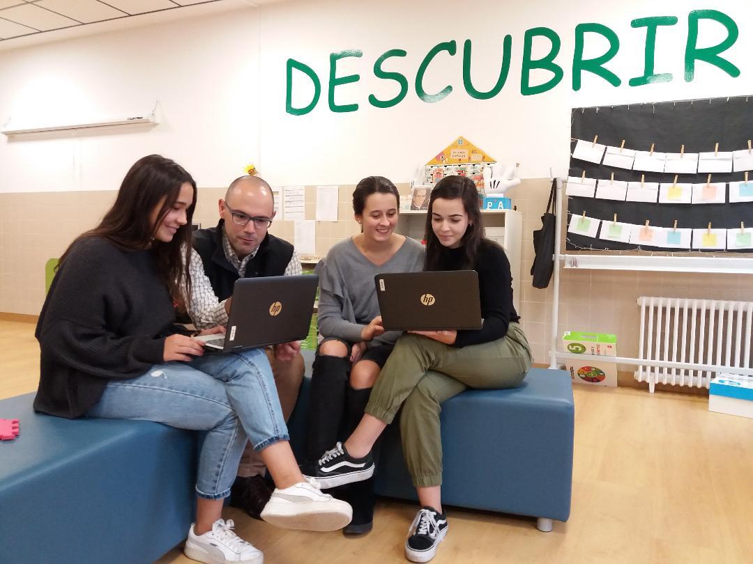 Nuestro Colegio Claret de Segovia, Equipo finalista en el Premio de Valores Democráticos