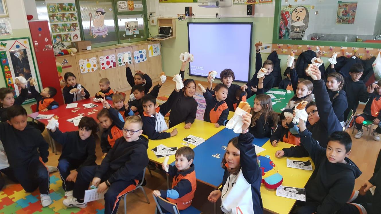 Día de la Fundadora en nuestro Colegio de Zaragoza