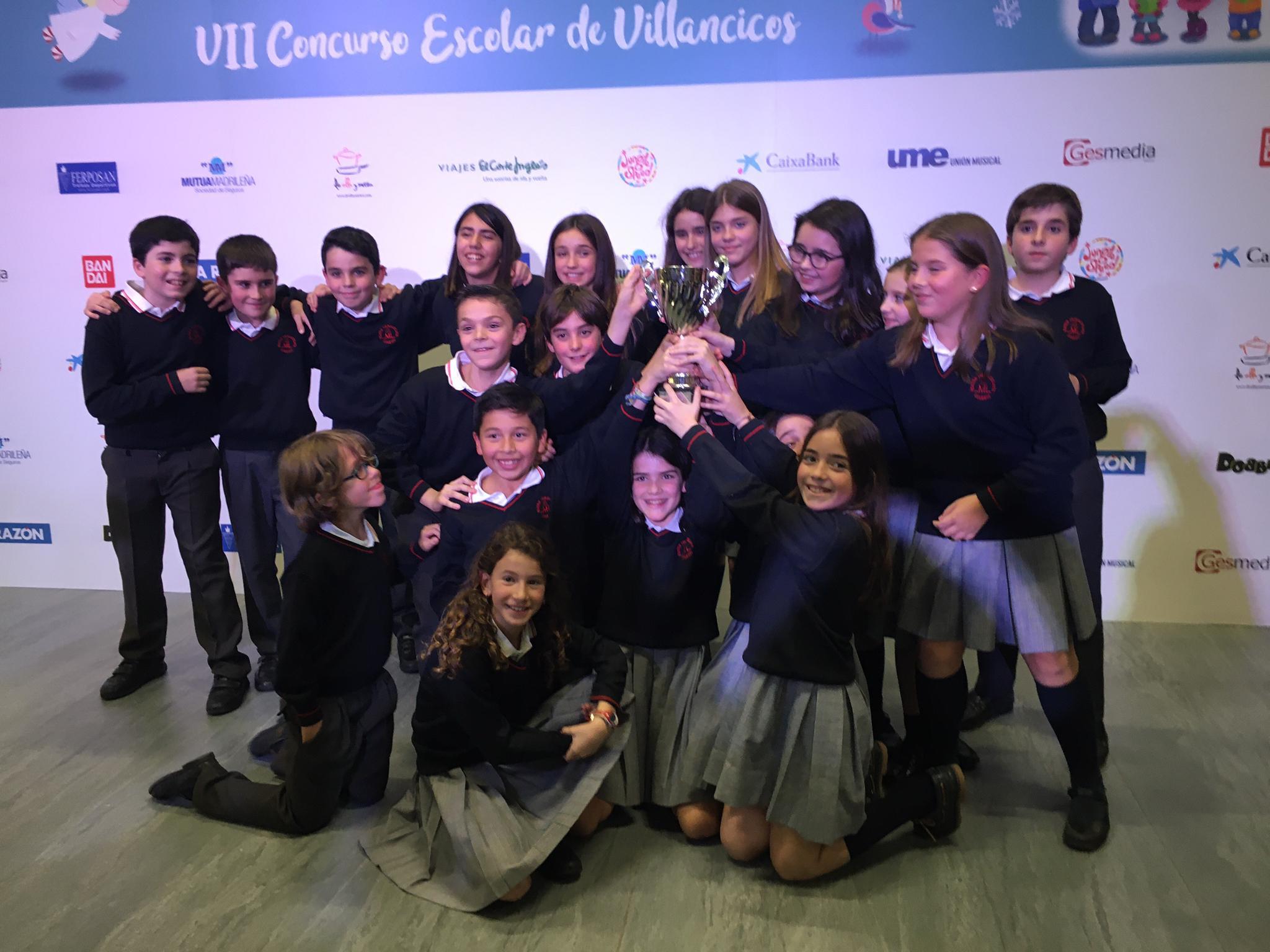 3er Premio en el Certamen de Villancicos para el Mater