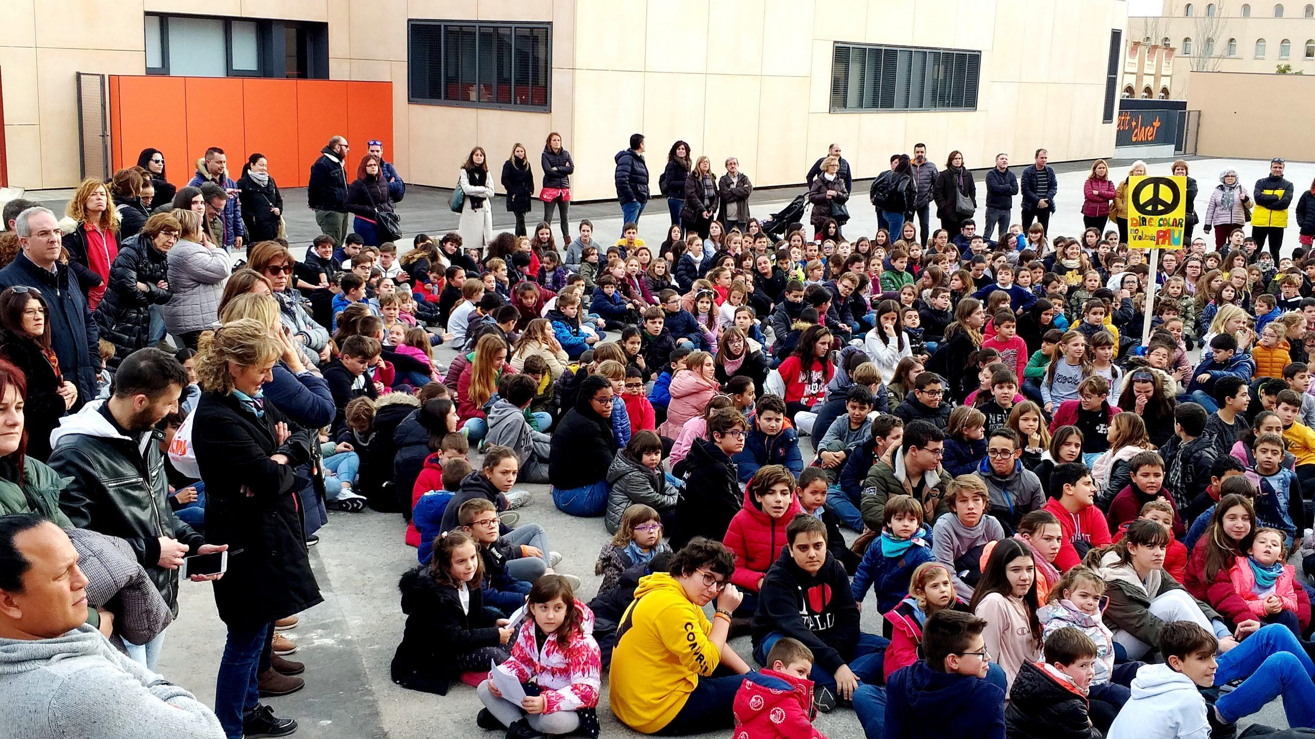 Día Escolar de la Paz en nuestro Colegio de Valls
