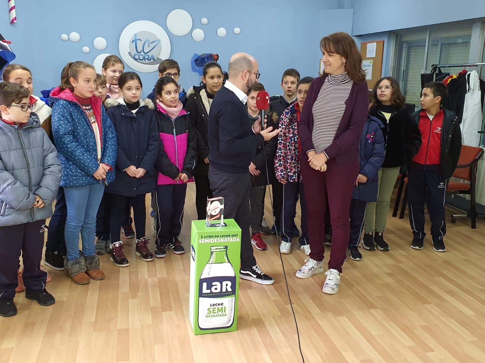 Nuestro Colegio Claret de Zamora recibe un premio de la TV de Castilla y León
