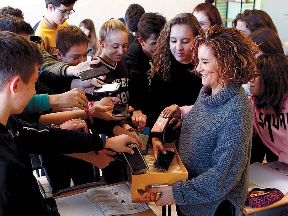 Una semana sin móvil en nuestro Colegio de Pamplona/Iruña