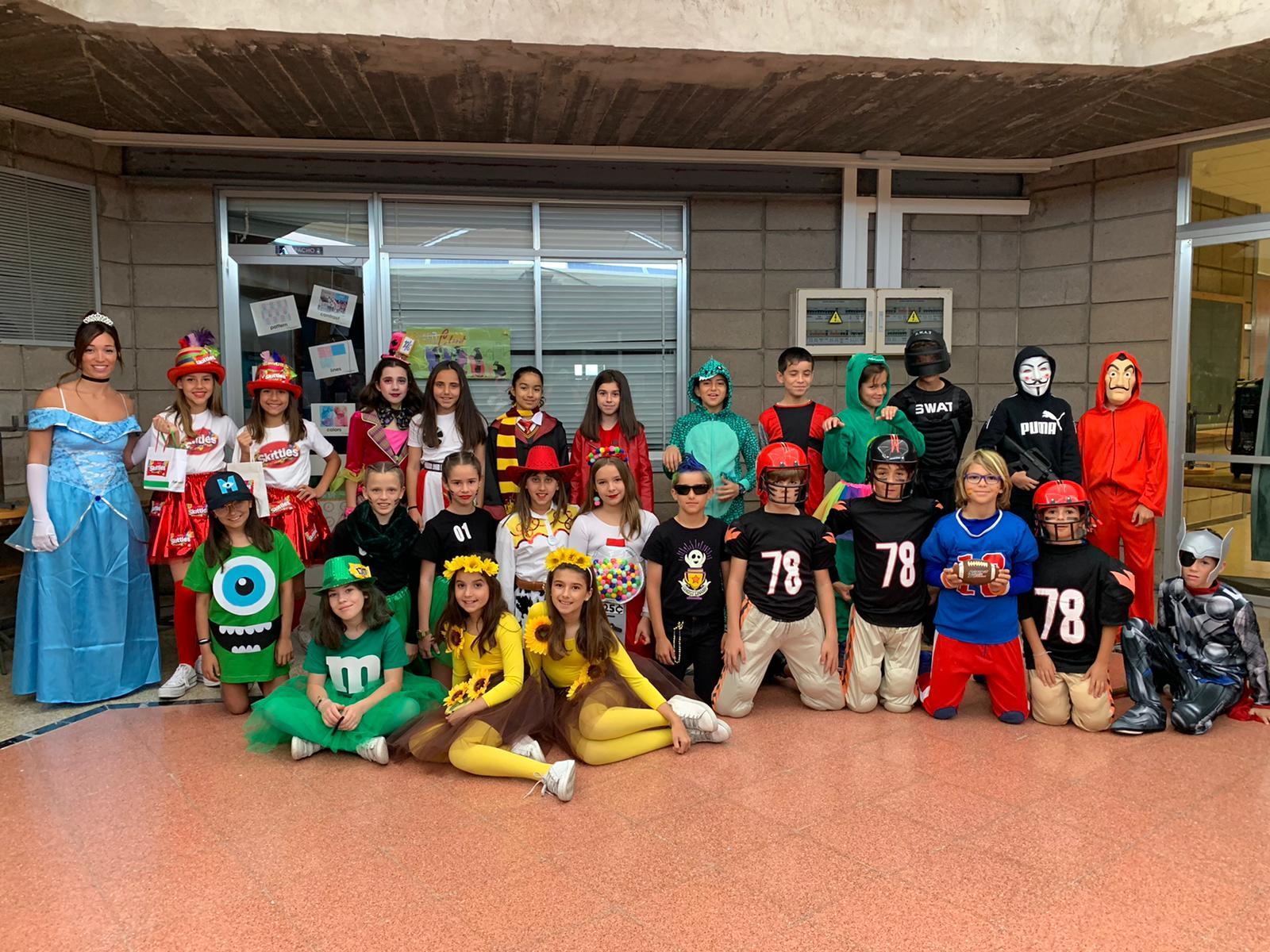 Carnavales en nuestro Colegio de Las Palmas de GC