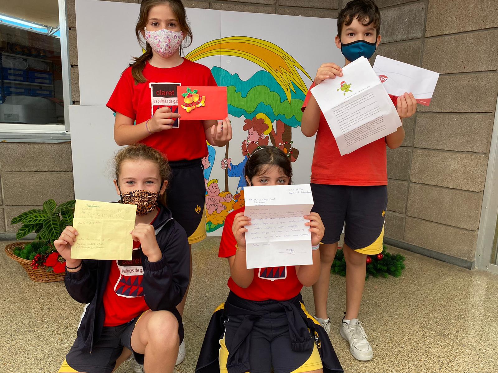 """En nuestro Colegio de Las Palmas """"tienen una carta para ti"""""""