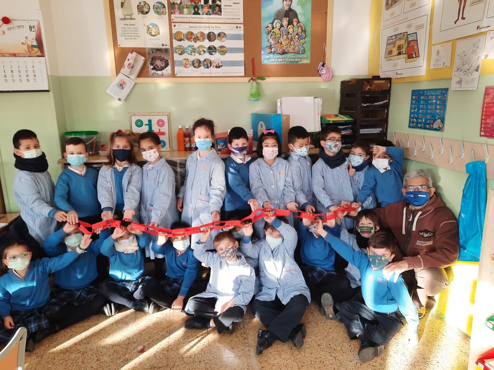 """""""Eslabones de Cuaresma"""" en nuestro Colegio de Zaragoza"""