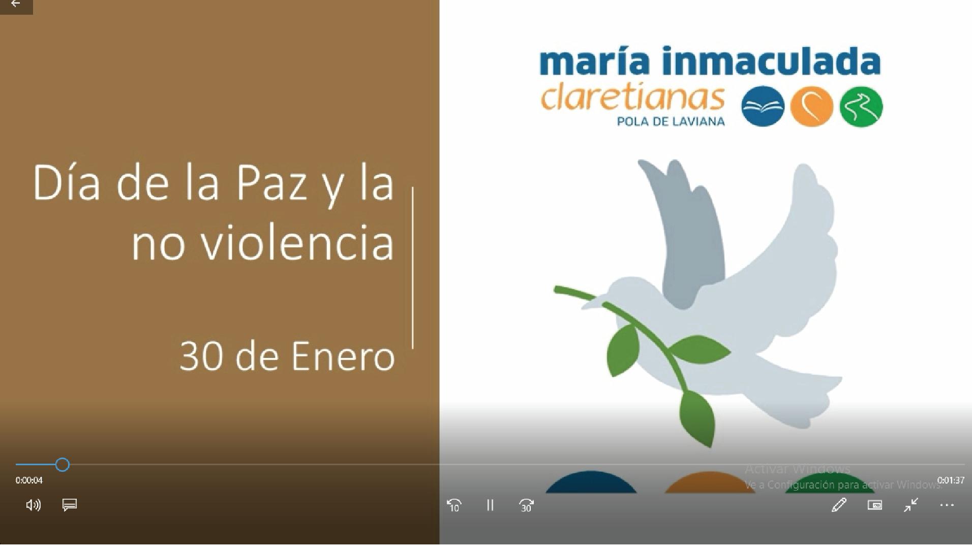 Día de la Paz y la No Violencia en Pola de Laviana