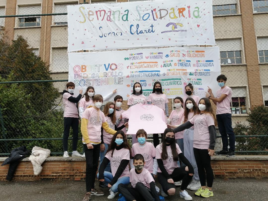 """""""El mundo es mi barrio"""", Semanas Solidarias en nuestros Colegios de la Provincia de Santiago"""