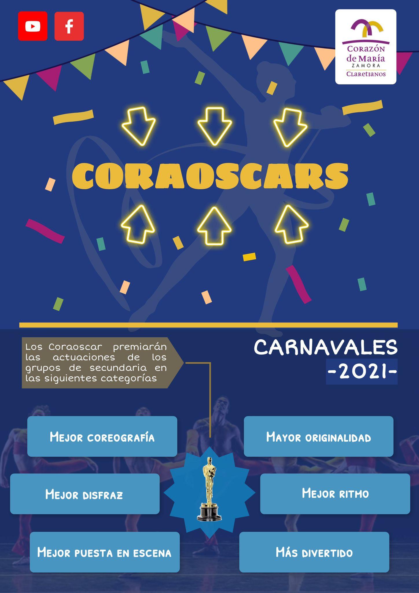 'Los Coraóscars', ilusión y diversión en nuestro Colegio Corazón de María de Zamora