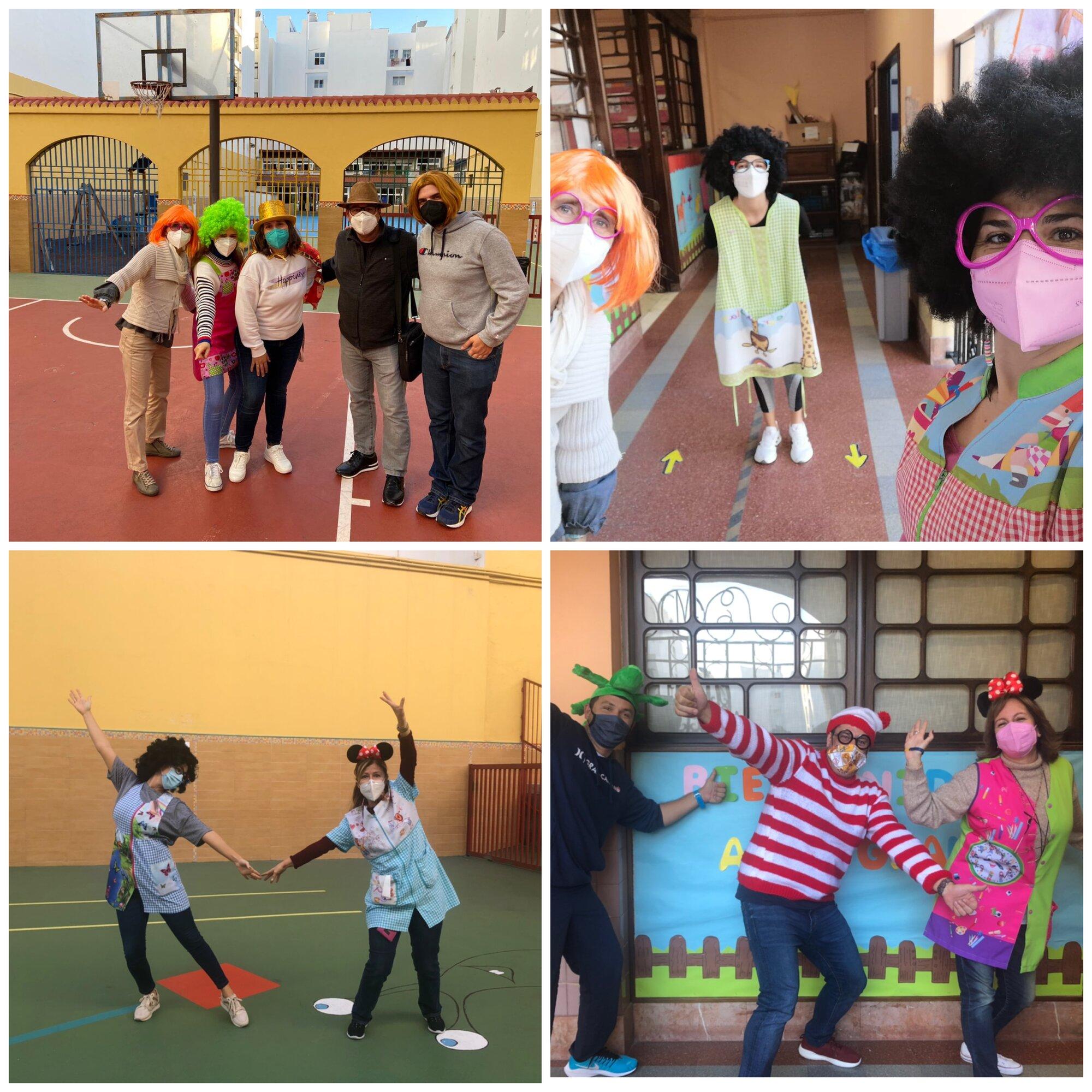 Fiesta de Carnaval en nuestro Colegio de Las Palmas