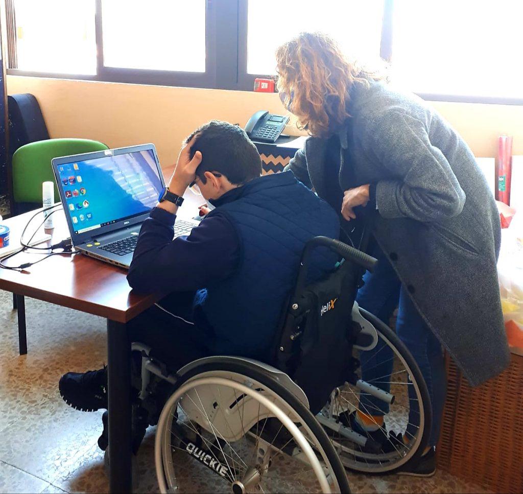 Tercera Unidad de Apoyo a la Integración en nuestro Colegio de Sevilla