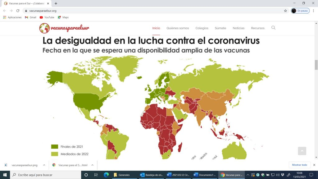 """""""Vacunas para el sur"""" una genial propuesta en nuestro Colegio Larraona"""