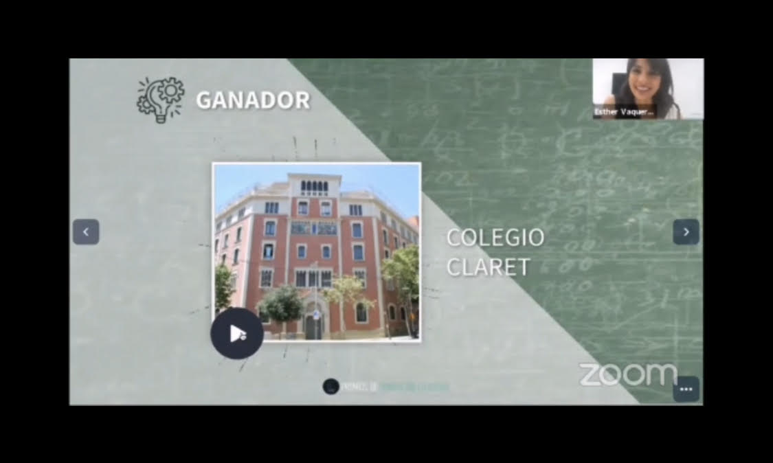 Nuestro Colegio Claret de Barcelona galardonado en los Premios Innovación Educativa