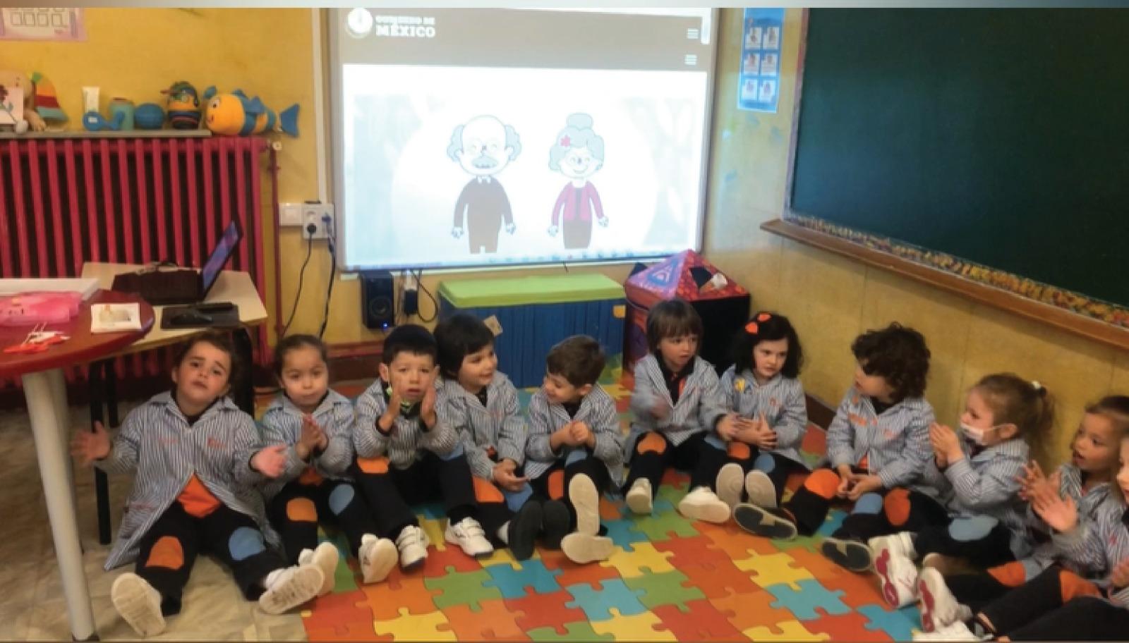 Día de los Abuelos en nuestro Colegio de Pola de Laviana