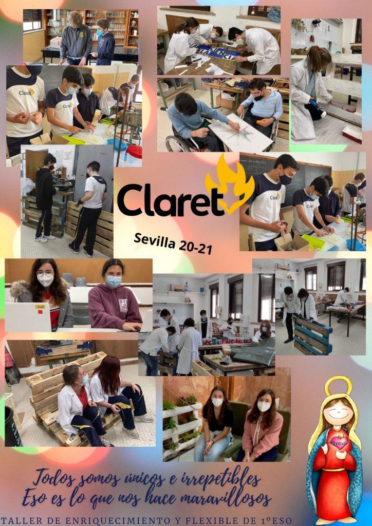 Nuestro Colegio Claret de Sevilla, en la Feria de las Ciencias