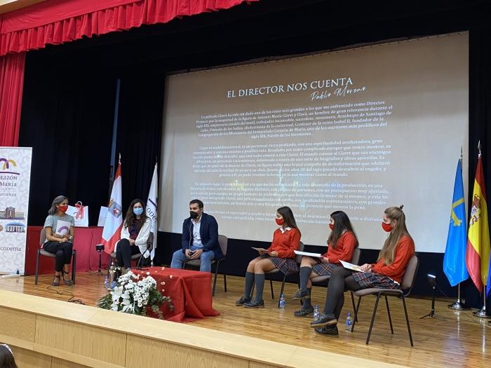 """La película """"Claret"""" en nuestro Colegio de Gijón"""